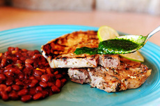 Cuban Pork Chops + Recipe Contest Reminder!
