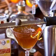 Spiced Manhattan Cocktail Recipe