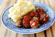 BBQ Comfort Meatballs