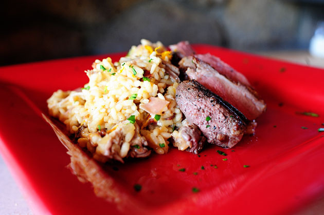 David's Duck Risotto
