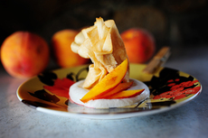 Quick-and-Easy Peach Parcels