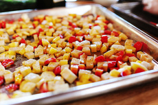 "Roasted Root Vegetable ""Candy"""