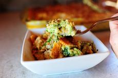 Broccoli Cheese & Cracker Casserole