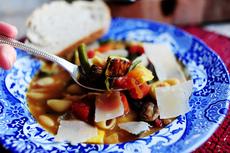 Roasted Vegetable Minestrone