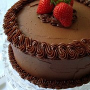 The Quintessential Chocolate Cake