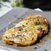 Sauteed Eggplant with Honey and Thyme