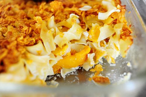 Peach Noodle Kugel