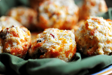 Bacon Onion Cheddar Biscuits