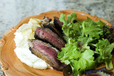 Pan-Fried Ribeye Steak
