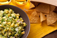 Pineapple and Cucumber Guacamole Recipe
