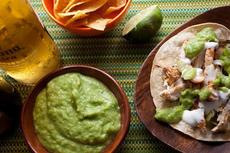 Guacamole Taquero (Tomatillo Guacamole) Recipe