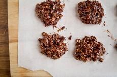 No-Bake Espresso (vegan) Cookies