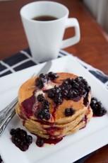 Swedish Rye Pancakes