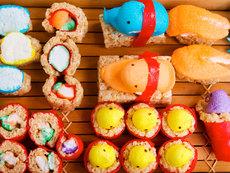 How to Make Peepshi = Peeps Sushi