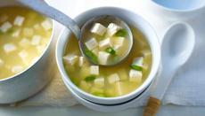 Spring miso soup