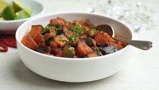 Creole aubergines