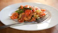 Panzanella (Tuscan tomato and bread salad)