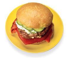 Greek Feta Burger