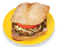 Sicilian Turkey Burger