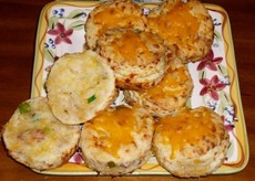 Bacon, Cheddar & Cracked Pepper Biscuits