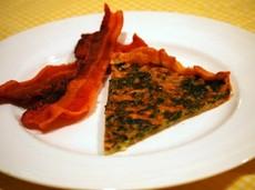 Savory Spinach Tart (Tarte Aux Epinards)
