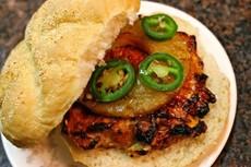 Grilled Turkey Burgers