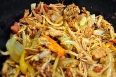 Slow Cooker Pork Fajitas