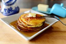 Edna Mae's Sour Cream Pancakes