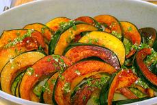 acorn squash with chile-lime vinaigrette