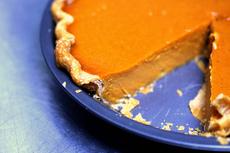 silky smooth pumpkin pie