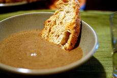 balthazar's cream of mushroom soup