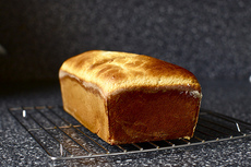 sally lunn bread + honeyed brown butter spread