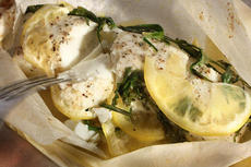 Basic Fish Baked in Parchment  Recipe