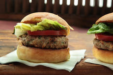 Pork and Apple Burgers Recipe