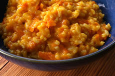 Sweet Carrot Risotto Recipe