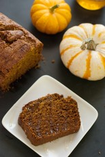 Honey Whole Wheat Pumpkin Bread