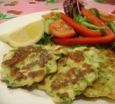 Haloumi & Zucchini Fritters