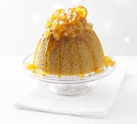 Ginger treacle sponge | Bottomless Bites