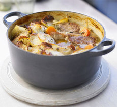 Lamb & potato hotpot