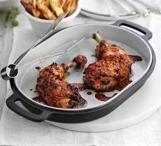 Piri piri chicken with chunky oven chips