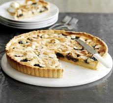 Prune & Armagnac tart