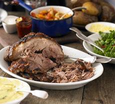 Slow-roast shoulder of pork