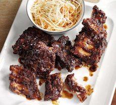Sticky BBQ ribs