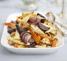 Roast root veg with cumin