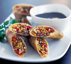 Chinese-style wintery rolls