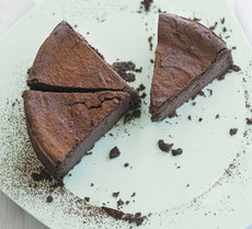 Chocolate chestnut torte