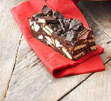 Chocolate crunch bars