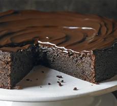 Chocolate & ginger torte