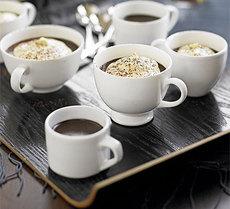 Chocolate & coffee truffle pots