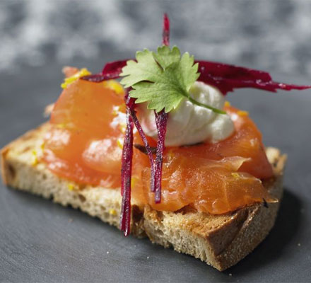 Cinnamon & star anise cured salmon | Bottomless Bites
